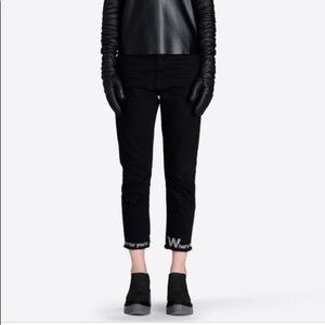 MM6 Black What's Flamboyant Pants